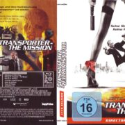 Transporter - The Mission (2005) R2 German Blu-Ray Cover & Label