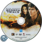 Maze Runner: The Scorch Trials (2015) R4 DVD label