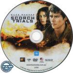 Maze Runner: The Scorch Trials (2015) R4 DVD label