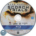 Maze Runner: The Scorch Trials (2015) R4 Blu-Ray Label