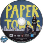 Paper Towns (2015) R4 DVD Label