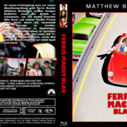Ferris macht blau (1986) R2 German Custom Blu-Ray Cover