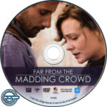 Far From The Madding Crowd (2015) R4 DVD label