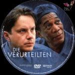 Die Verurteilten (1995) R2 German Custom Labels