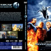 Fantastic Four – Rise of the Silver Surfer (2007) R2 German Custom Cover