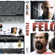 Felon (2008) R2 German Cover & label