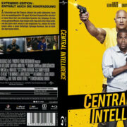 Central Intelligence (2016) R2 German Custom Blu-Ray Cover & labels
