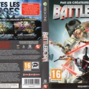 BattleBorn (2016) XBOX ONE French Cover &Label