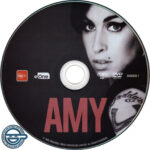 Amy (2015) R4 DVD label