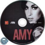 Amy (2015) R4 DVD label