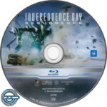 Independence Day: Resurgence (2016) R4 Blu-Ray Label
