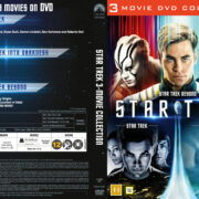 Star Trek - 3 Movie Collection (2016) R2 DVD Nordic Cover