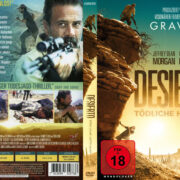 Desierto – Tödliche Hetzjagd (2015) R2 German Custom Cover & label
