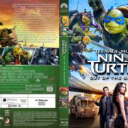 Teenage Mutant Ninja Turtles 2 (2016) R2 German Custom Blu-Ray Cover & labels