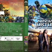 Teenage Mutant Ninja Turtles 2 (2016) R2 German Custom Cover & labels