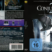 The Conjuring 2 (2016) R2 German Custom Blu-Ray Cover