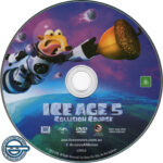 Ice Age: Collision Course (2016) R4 DVD Label