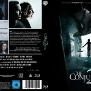 The Conjuring 2 (2016) R2 Custom German Blu-Ray Cover