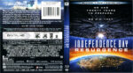 Independence Day: Resurgence (2016) R1 Blu-Ray Cover & Labels