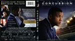 Concussion (2015) R1 Blu-Ray Cover & Label