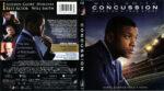 Concussion (2015) R1 Blu-Ray Cover & Label