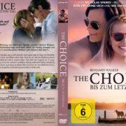 The Choice – Bis zum letzten Tag (2015) R2 German Custom Cover & label