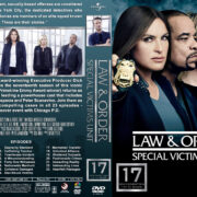 Law & Order: SVU – Season 17 (2016) R1 Custom Covers & labels
