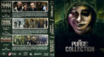 The Purge Collection (2013-2016) R1 Custom Blu-Ray Cover