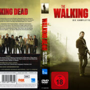 The Walking Dead Staffel 5 (2015) R2 German Custom Cover