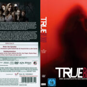 True Blood Staffel 6 (2013) R2 German Custom Cover & labels