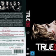 True Blood Staffel 7 (2014) R2 German Custom Cover & labels