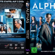 Alphas Staffel 1 (2012) R2 German Custom Cover & labels