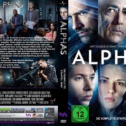 Alphas Staffel 2 (2013) R2 German Custom Cover & labels