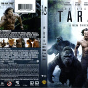 The Legend Of Tarzan (2016) R1 Blu-Ray Cover & labels