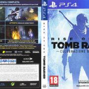 Rise Of The Tomb Rider (Celebrazione 20 Anni) (2016) PS4 Italian Cover