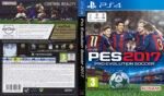 Pro Evolution Soccer 2017 (2016) PS4 Italian Cover
