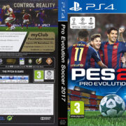 Pro Evolution Soccer 2017 (2016) PS4 Italian Cover