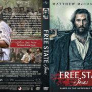 Free State of Jones (2016) R1 Custom Cover & label