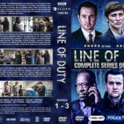 Line of Duty – Series 1-3 (2014) R1 Custom Cover