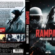 Rampage President Down (2016) R2 GERMAN Cover