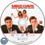 Mike And Dave Need Wedding Dates (2016) R4 DVD Label