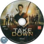 Take Down (2016) R4 DVD Label