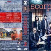 Scorpion - Season 2 (2016) R1 Custom Cover & labels