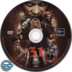 31 (2016) R4 DVD Label