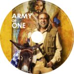 Army of One (2016) R0 CUSTOM dvd label