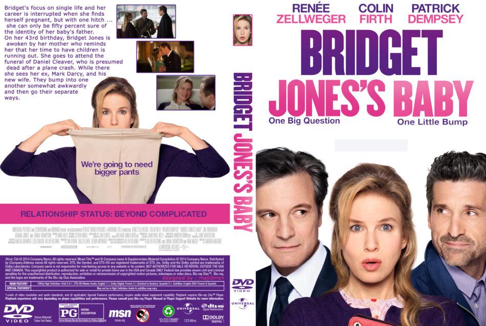 Bridget Jones S Baby Dvd Cover 2016 R0 Custom