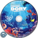 Finding Dory (2016) R4 DVD Label
