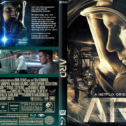 ARQ (2016) R2 German Custom Blu-Ray Cover & Label