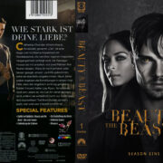 Beauty & the Beast Staffel 1 (2013) R2 German Custom Cover & labels