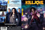 Killjoys Staffel 2 (2015) R2 German Custom Cover & labels